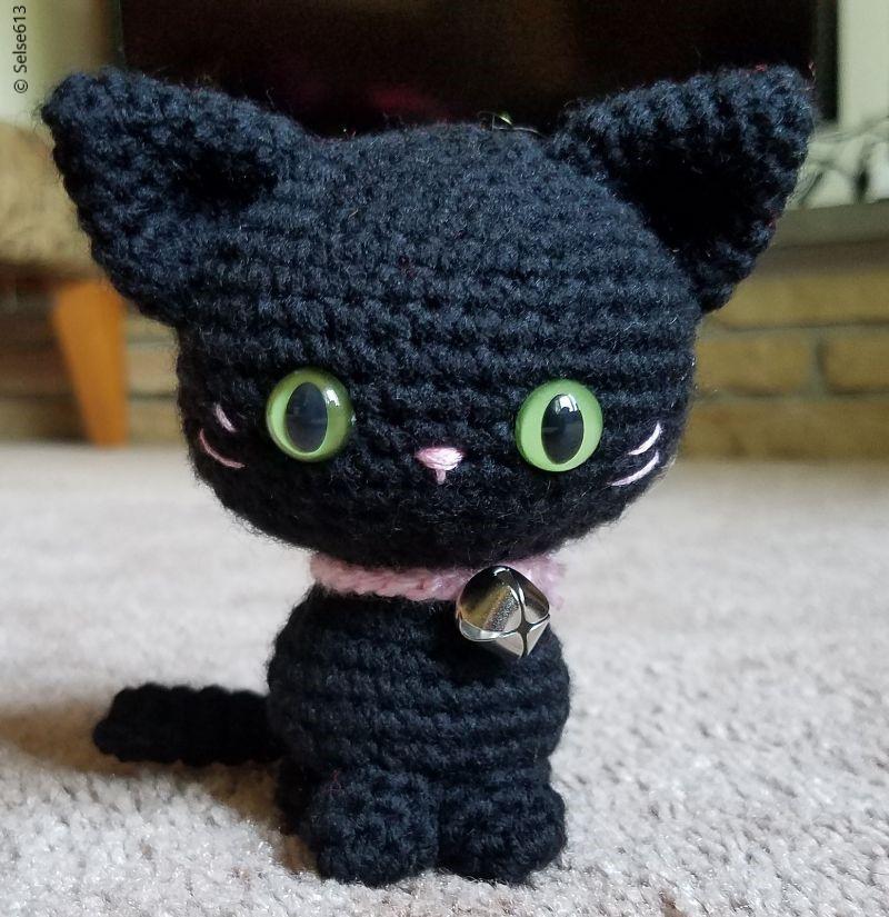 Free Crochet Pattern Itty Little Simple Kitty