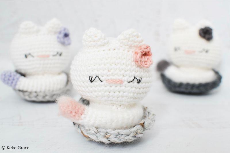 Free Crochet Pattern Kai The Kitty