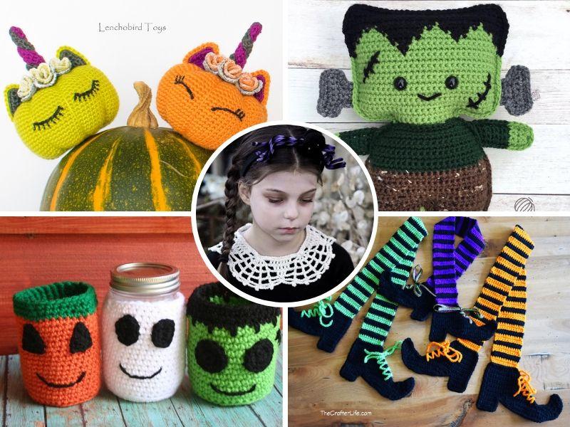 Free Patterns Last Minute Crochet Halloween Ideas