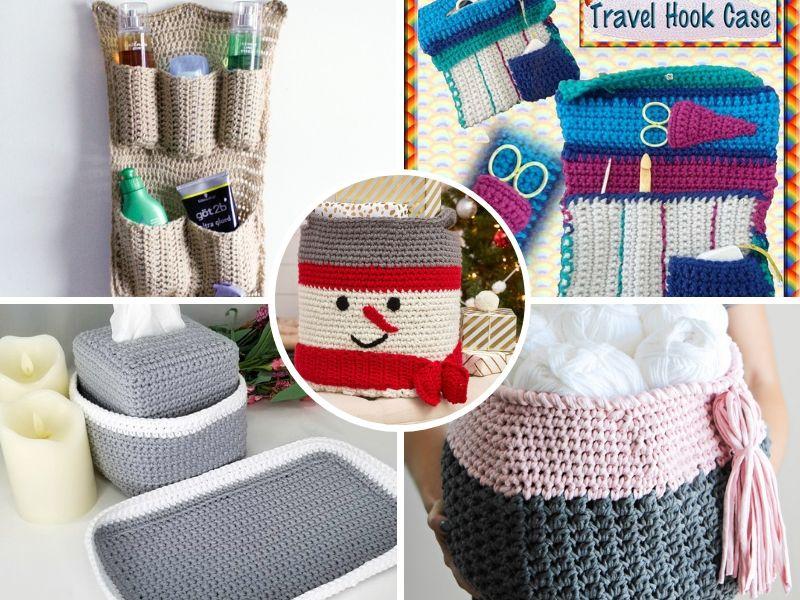 Free Patterns: Let`s Organize! Crochet Ideas