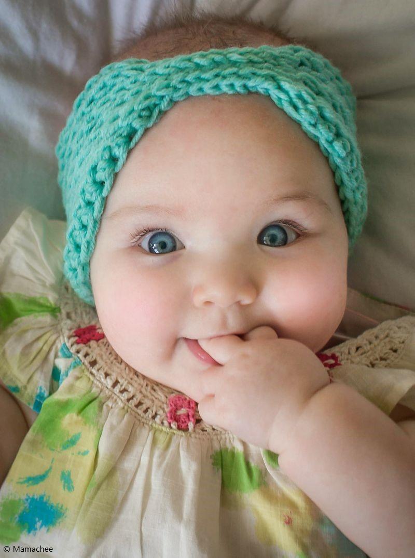 Free Crochet Pattern Little Everly Head Wrap
