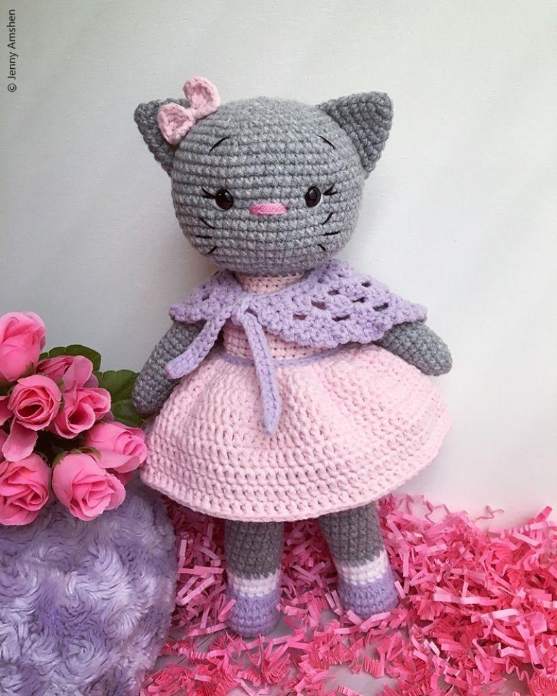 Crochet Pattern My Kitty Cat
