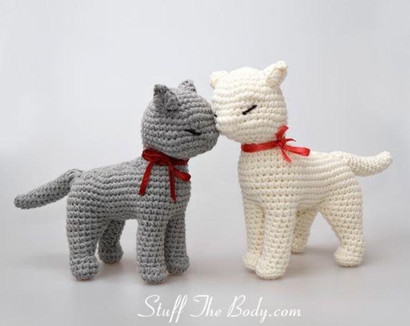 Crochet Pattern Sandy The Cat Amigurumi