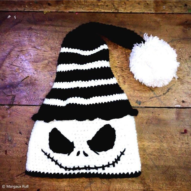 Crochet Skeleton Beanie
