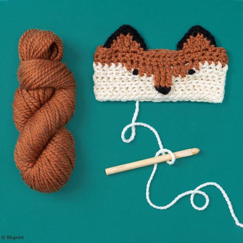 Free Crochet Pattern Sly Fox Headband
