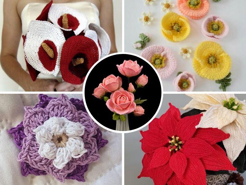 Stunning Crochet Flowers