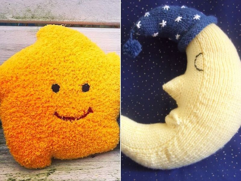 Sweet Dreams Knitted Pillows Free Patterns
