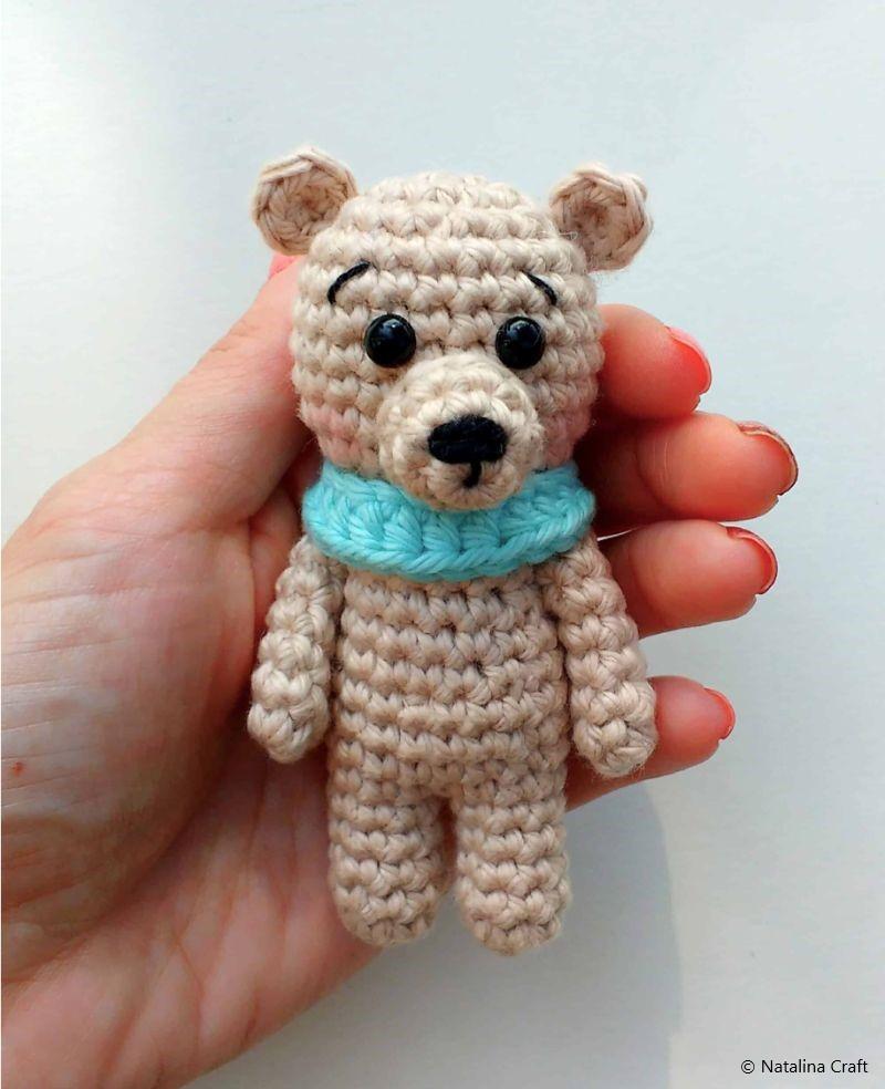 Crochet Animals Patterns - Tiny Bear Amigurumi