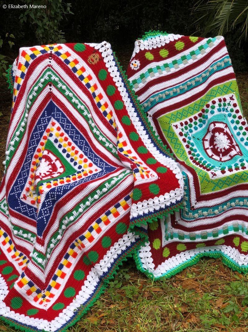 Christmas Blanket CAL