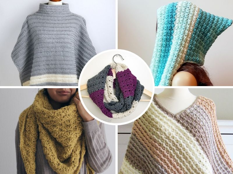 Free Patterns: Wrap up Warm Crochet Ideas