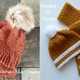 Heart-Warming Winter Sets with Free Crochet Patterns