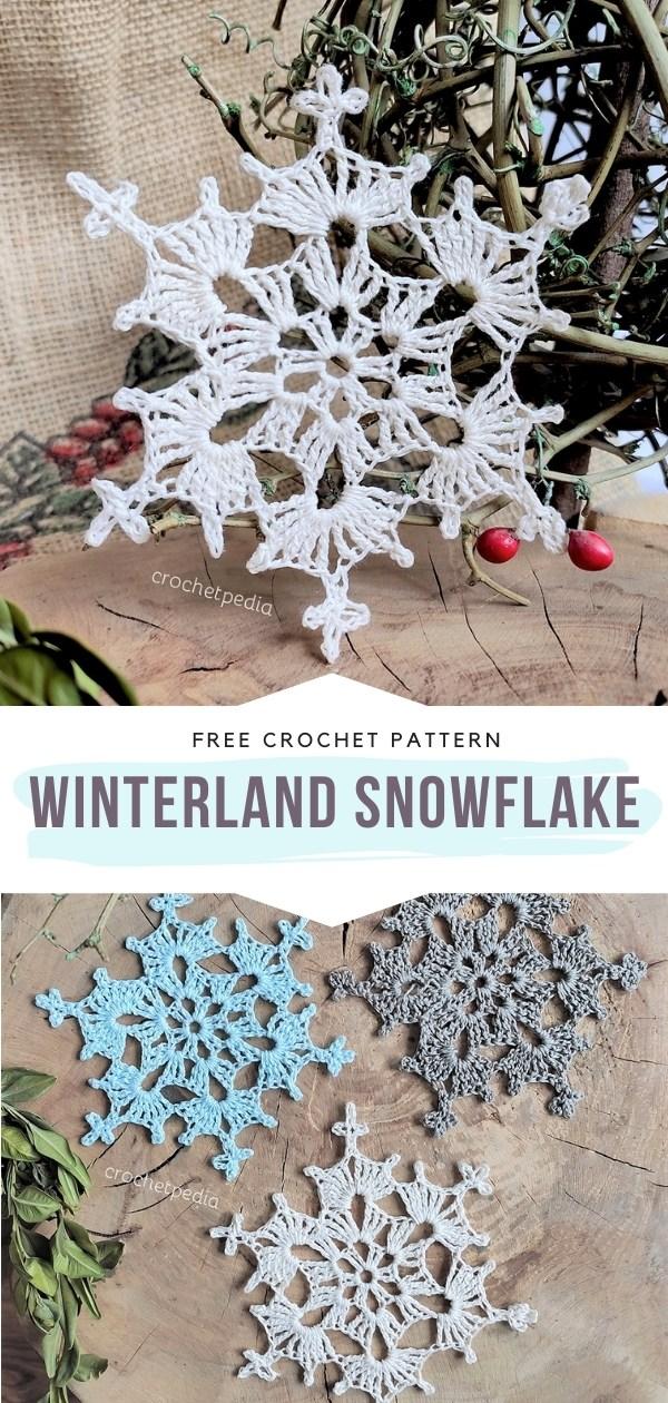 Winterland Snowflake