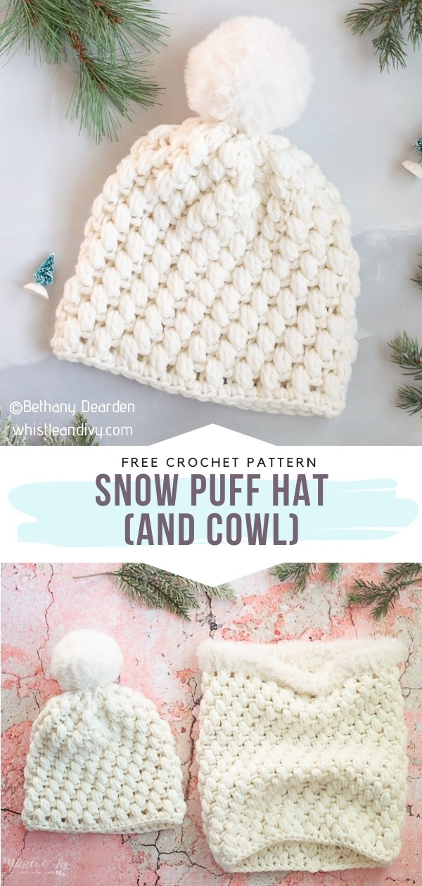 Puff Stitch Winter Set