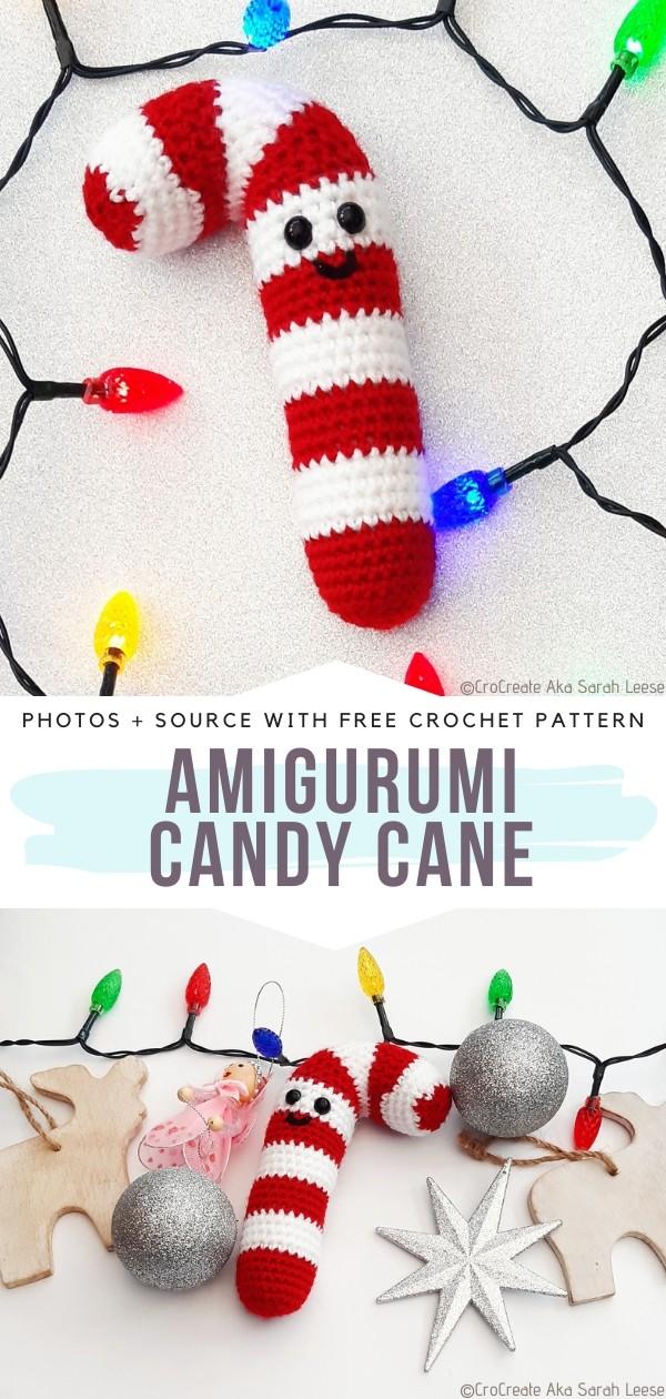 Amigurumi Candy Cane