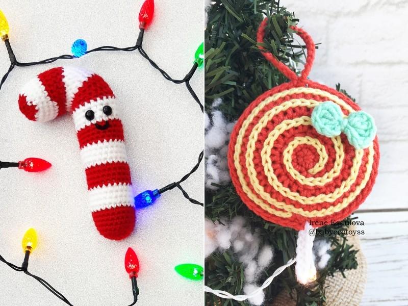 Amigurumi Christmas Candy Free Crochet Patterns
