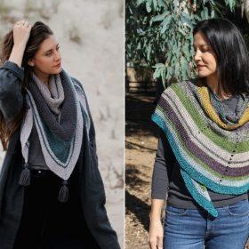 Autumn Vibes Wraps Free Knitting Patterns