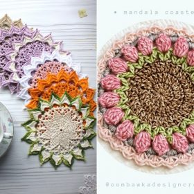 Blooming Coasters Free Crochet Patterns