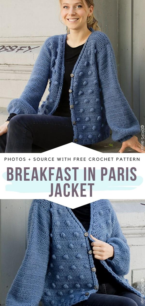 Breakfast in Paris Free Crochet Pattern