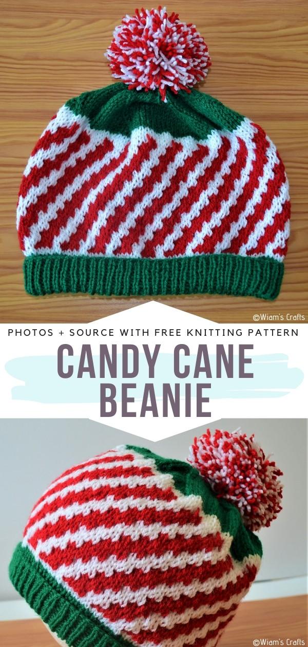 Candy Cane Beanie