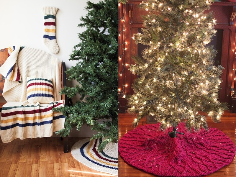 Christmas Tree Skirts Free Knitting Patterns