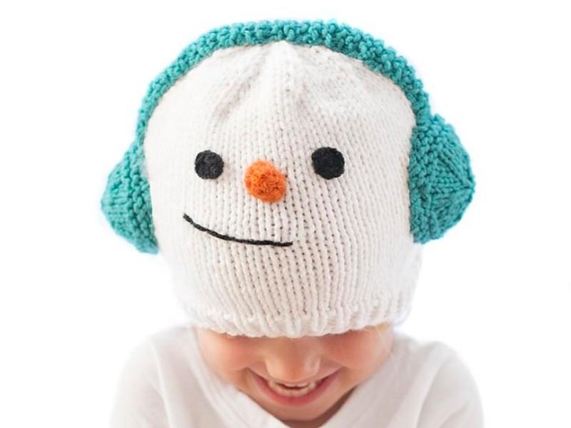 Snowman Hats Free Knitting Patterns