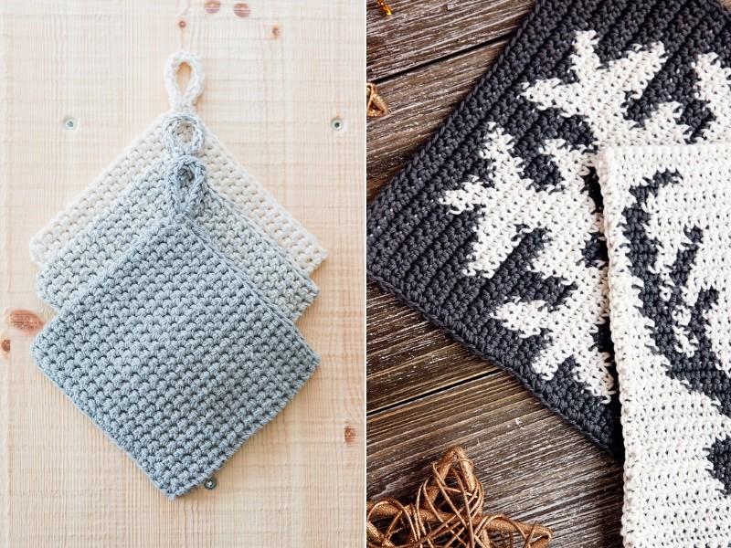 Essential Potholders Free Crochet Patterns