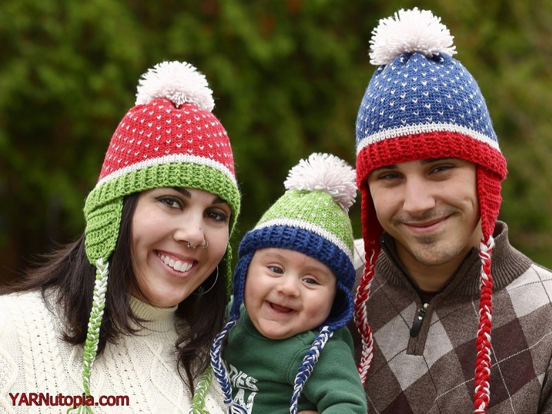 Family Time Hats Free Crochet Patterns