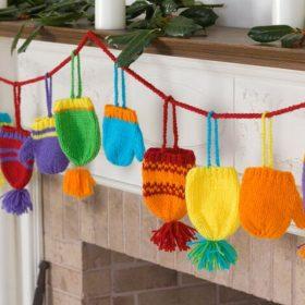 Festive Garlands Free Knitting Patterns-feature