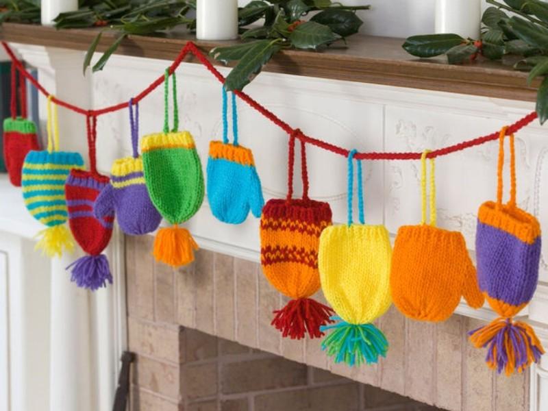 Festive Garlands Free Knitting Patterns