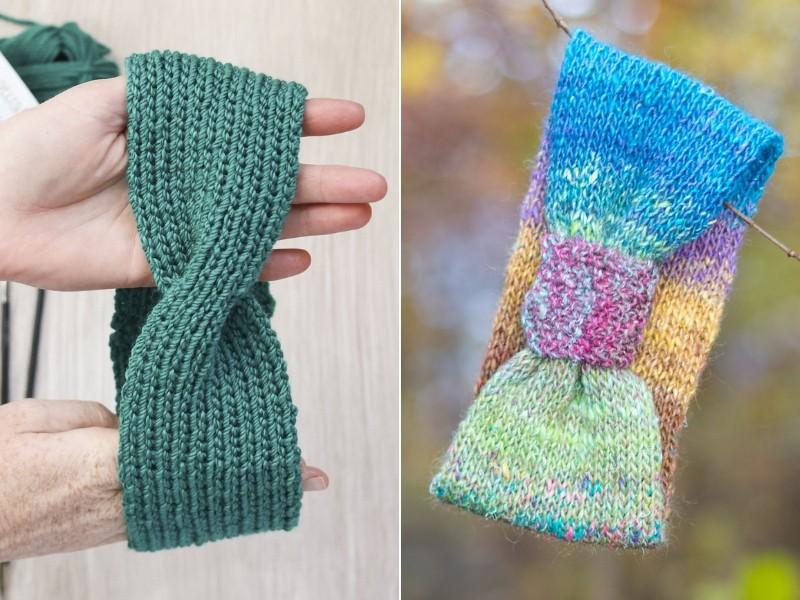 Headbands with a Twist Free Knitting Patterns