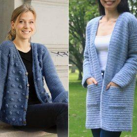 Heavenly Blue Cardigans Free Crochet Patterns-feature