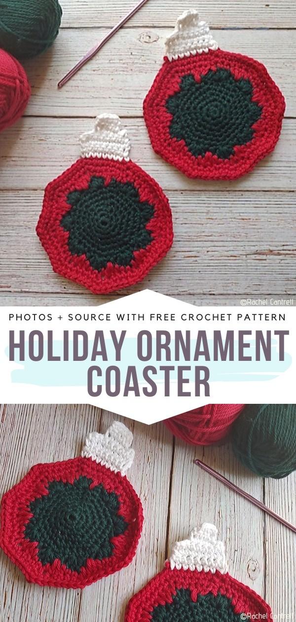 Holiday Ornament Coaster
