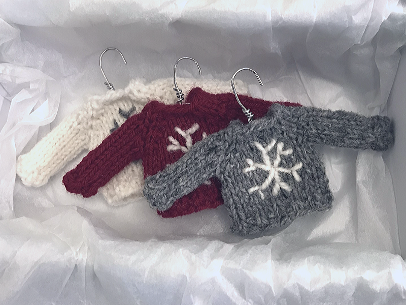 Knitted Ornaments Free Patterns