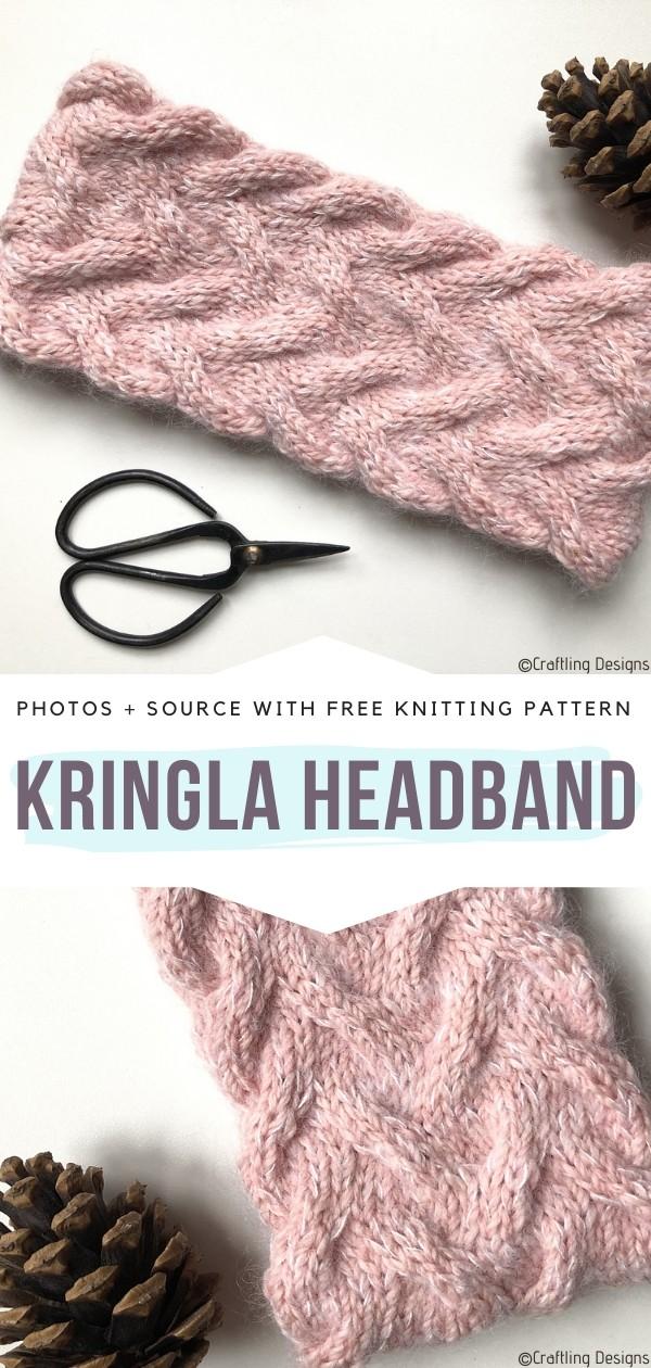 Kringla HeadbandFree Knitting Pattern