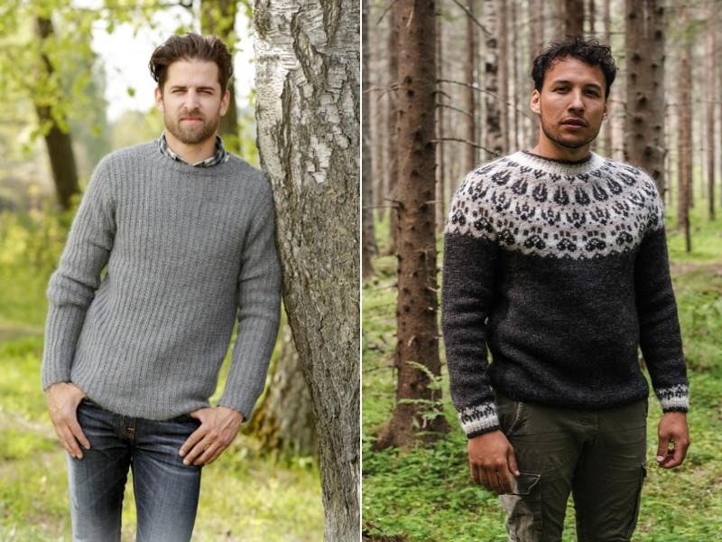 Men's Jumpers Free Knitting Patterns
