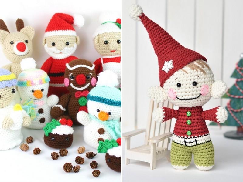The Ultimate Christmas Amigurumi Free Crochet Patterns