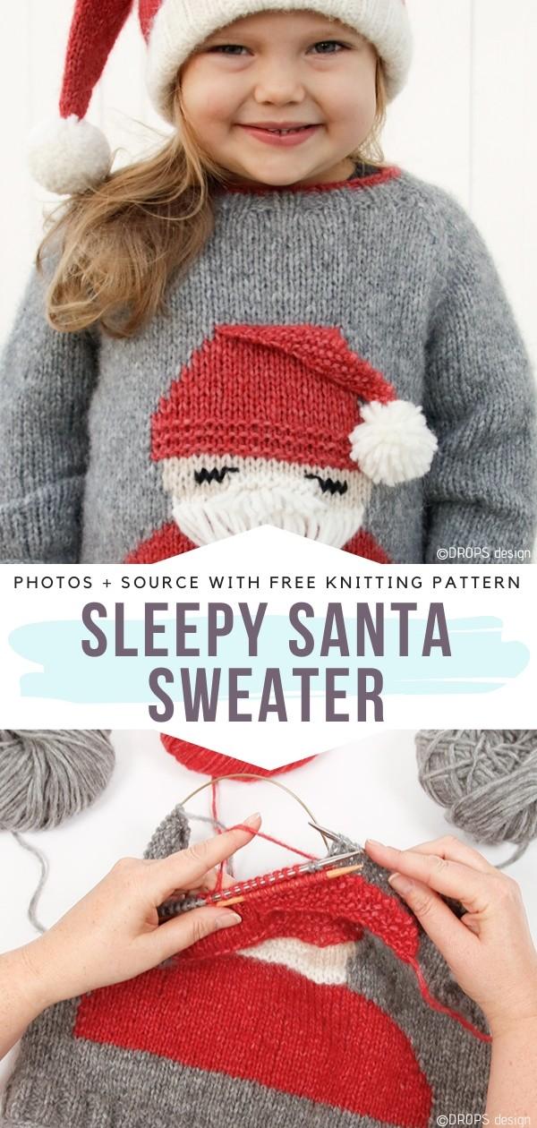 Sleppy Santa Sweater