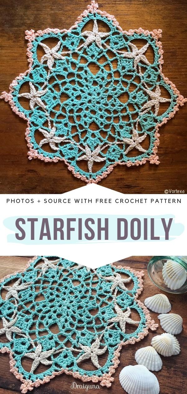 Starfish Doily