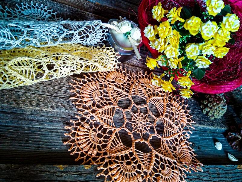 Subtle Lace Placemats Free Crochet Patterns