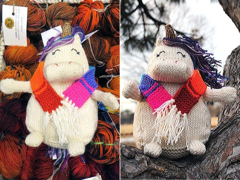 Unicorn Gifts for Kids Free Knitting Patterns