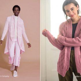 Charming Pastels Cardigans Free Knitting Patterns