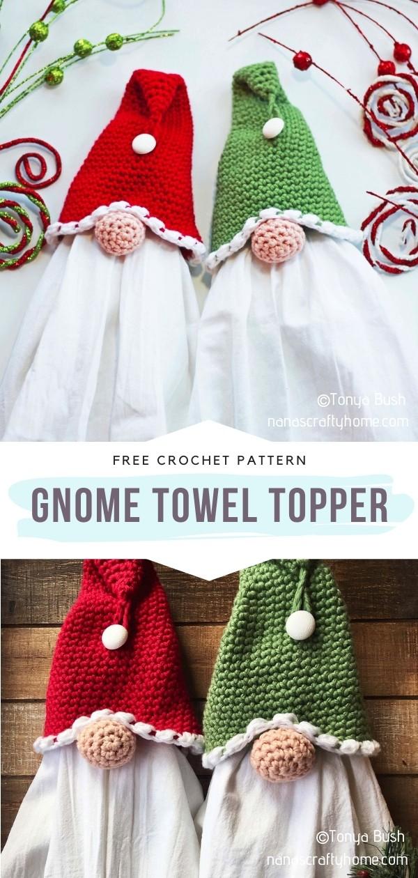 Gnome Towel Topper