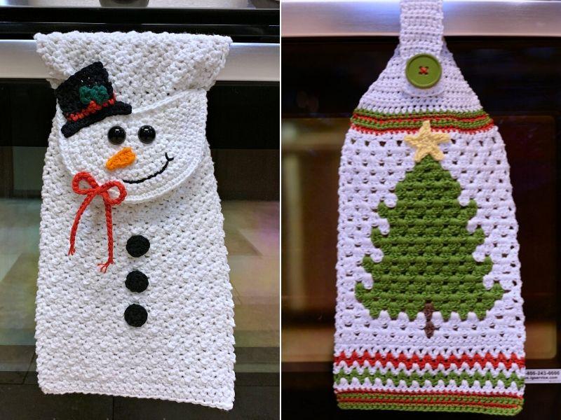 Free Crochet Pattern Jolly Kitchen Towel Ideas