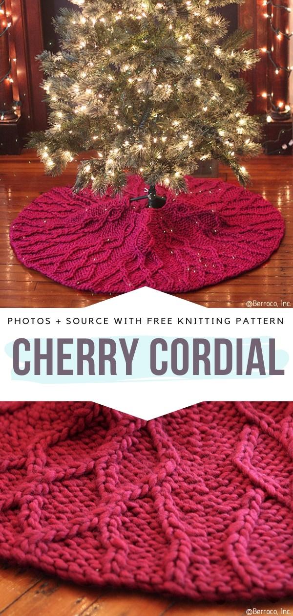 Cherry Cordial Free Knitting Pattern
