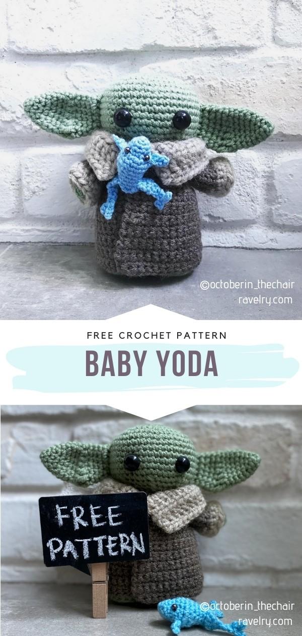 Baby Yoda Amigurumi