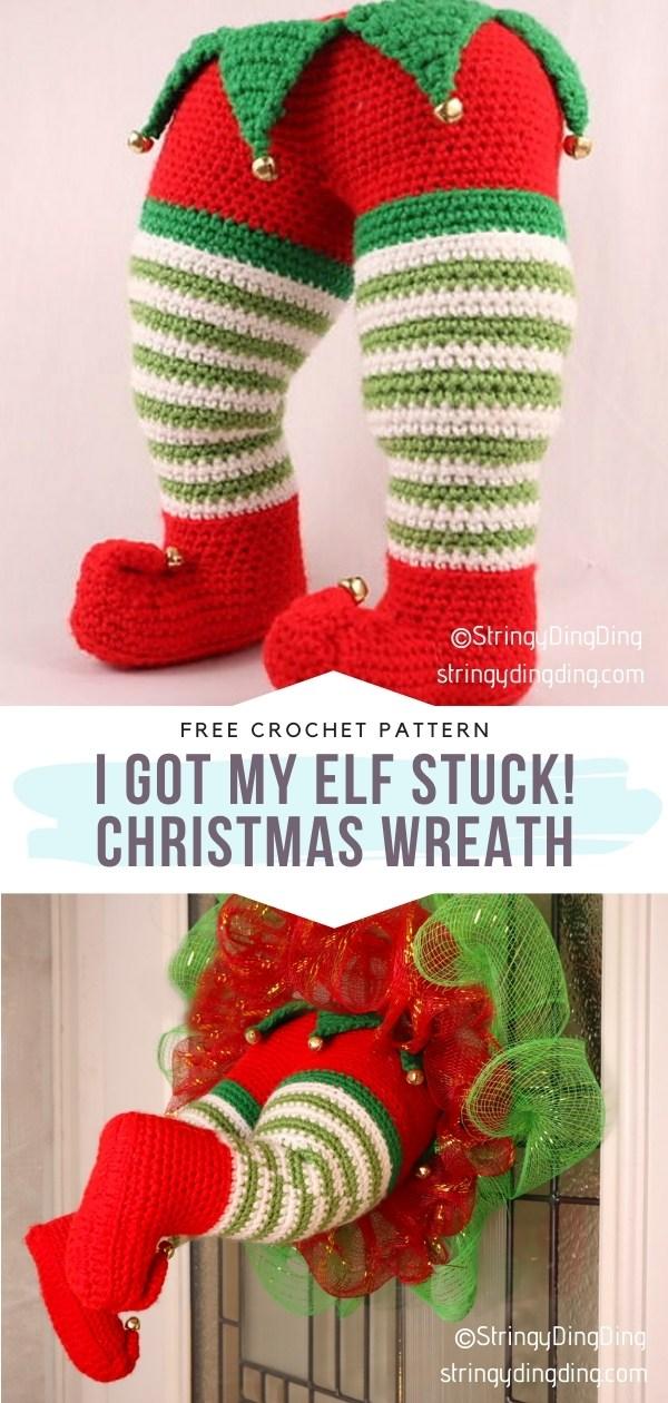 Elf Christmas Wreath