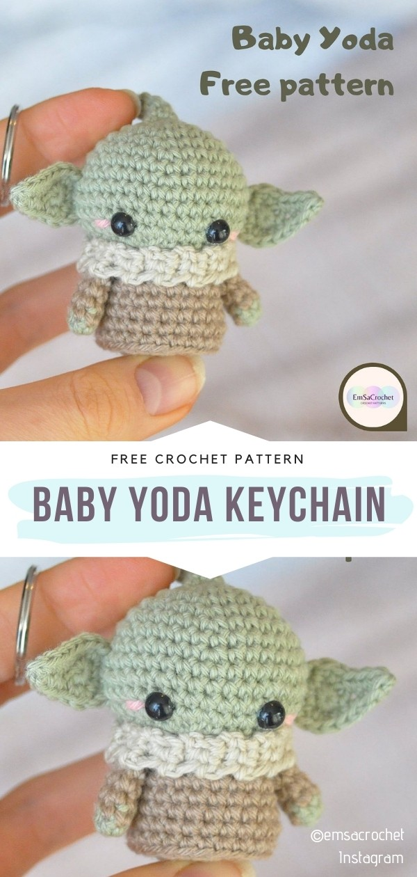 Baby Yoda Keychain