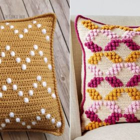 Bubbly Dreams Pillows Free Crochet Patterns