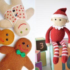 Christmas Softies Free Knitting Patterns