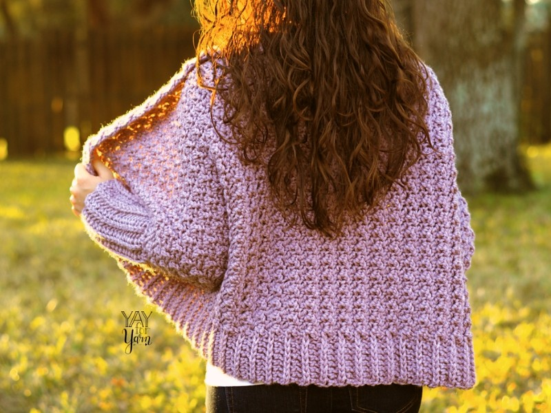 Cuddly Cardigans Free Crochet Patterns